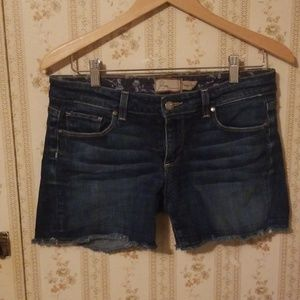 Paige Demin Womens Shorts